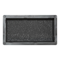 Формы для тротуарной плитки Вереск-2007 Антик №3 шагрень 200×100×45 мм