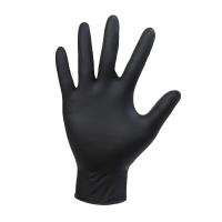 Рукавички нітрилові Чорні Unex Medical Products 100 шт розмір M