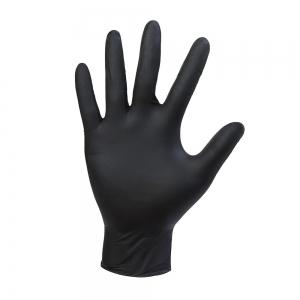 Перчатки нитриловые Черные Nitrylex Black 100 шт размер L