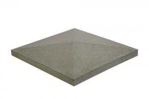 Формы для крышки на столб Alpha Крышка 390×390×65 мм гладкая