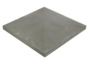 Формы для крышки на столб Alpha Крышка 490×490×65 мм гладкая