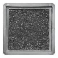 Формы для фасадной плитки Вереск-2007 Фасадный камень 130×130×15 мм