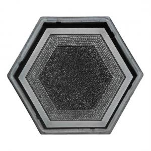 Формы для тротуарной плитки Вереск-2007 Шестигранник мозаика 205×178×45 мм