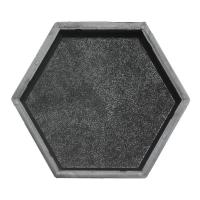 Формы для тротуарной плитки Вереск-2007 Шестигранник шагрень 205×178×45 мм
