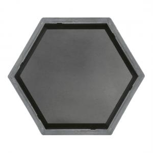 Формы для тротуарной плитки Вереск-2007 Шестигранник гладкий 205×178×45 мм