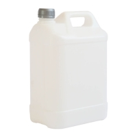 Plastic jerrycans 5 liters. Plastic screw lid 38 mm