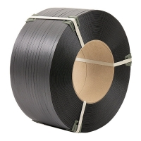 Polypropylene tape 19 mm × 0.9 mm × 1000 m packing gray