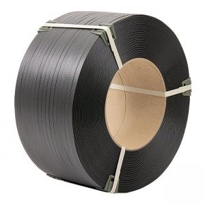 Лента полипропиленовая 19 мм × 0,9 мм × 1000 м упаковочная серая