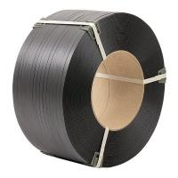 Polypropylene tape 12 mm × 0.8 mm × 2300 m packing gray