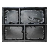 Формы для тротуарной плитки Средневековый камень 128×128×50, 210×128×50, 168×128×50 мм
