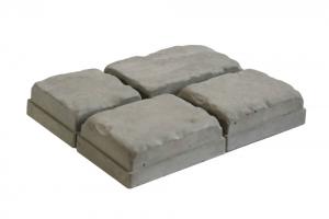 Формы для тротуарной плитки Вереск-2007 Средневековый камень