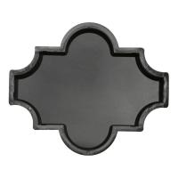 Формы для тротуарной плитки Вереск-2007 Мелирия гладкая 270×225×45 мм