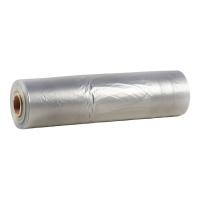 Пленка полиэтиленовая 60 мкм, 1350 мм полурукав, светло-серая
