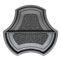 Формы для тротуарной плитки Вереск-2007 Рокки несимметричная половинки