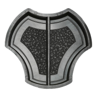Формы для тротуарной плитки Вереск-2007 Рокки симметричная половинка