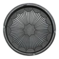 Формы для тротуарной плитки Вереск-2007 Рондо круг Ø245×45 мм