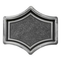 Формы для тротуарной плитки Вереск-2007 Рондо крест малый 165×145×45 мм