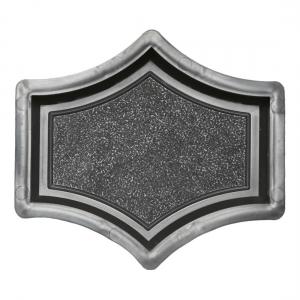Формы для тротуарной плитки Вереск-2007 Рондо крест малый 173×147×45 мм