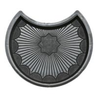 Формы для тротуарной плитки Вереск-2007 Рондо круг усечённый 245×205×45 мм