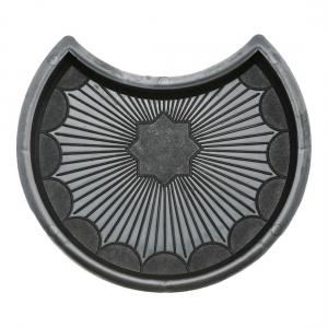 Формы для тротуарной плитки Вереск-2007 Рондо круг усечённый 245×208×45 мм