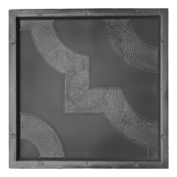 Формы для тротуарной плитки Чайка 300×300×30 мм