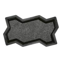 Формы для тротуарной плитки Вереск-2007 Змейка шагрень 240×125×60 мм