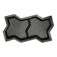 Формы для тротуарной плитки Вереск-2007 Змейка с перегородкой 240×120×60 мм