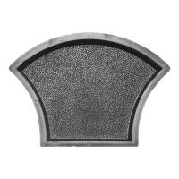 Формы для тротуарной плитки Вереск-2007 Чешуя шагрень 238×168×45 мм