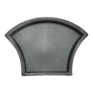 Формы для тротуарной плитки Вереск-2007 Чешуя гладкая 235×166×45 мм