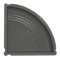 Ступень поворотная форма №2 295×295×35 мм