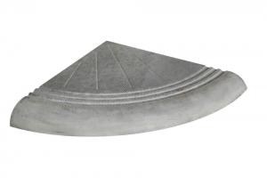 Формы для ступеней Alpha Ступень поворотная №2 295×295×35 мм