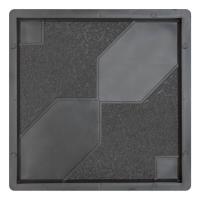 Формы для тротуарной плитки Роза Ветров 300×300×30 мм